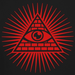 Eye in the Pyramid - symbol of Omniscience Long Sleeve Shirts - Crewneck Sweatshirt