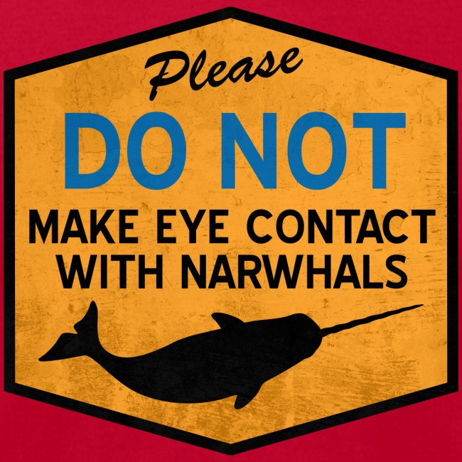 Eye Contact Narwhals (Vintage)