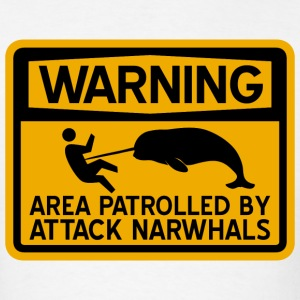 Attack Narwhals T-Shirts - Men's T-Shirt