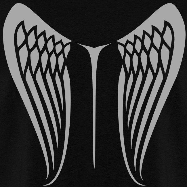 WingBeat-Silver Glitz