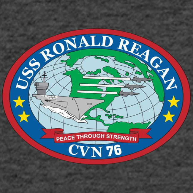USS RONALD REAGAN CVN-76 WESTPAC 2017 WOMENS CRUISE SHIRT