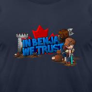 Design ~ Benja T-Shirt by American Apparel (M)