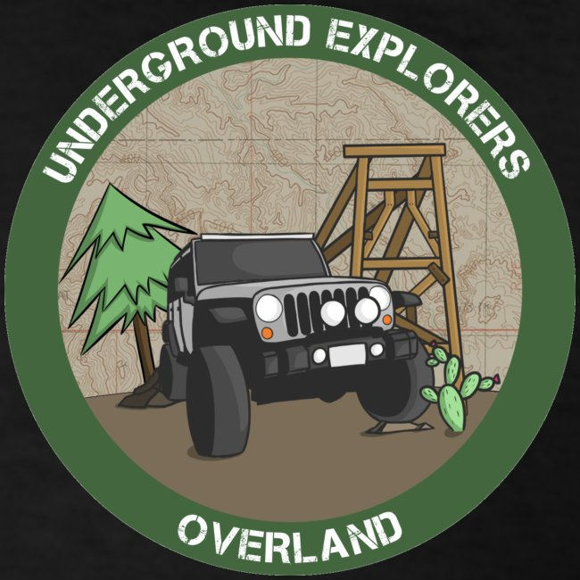 Underground Explorers Overland Logo Tee