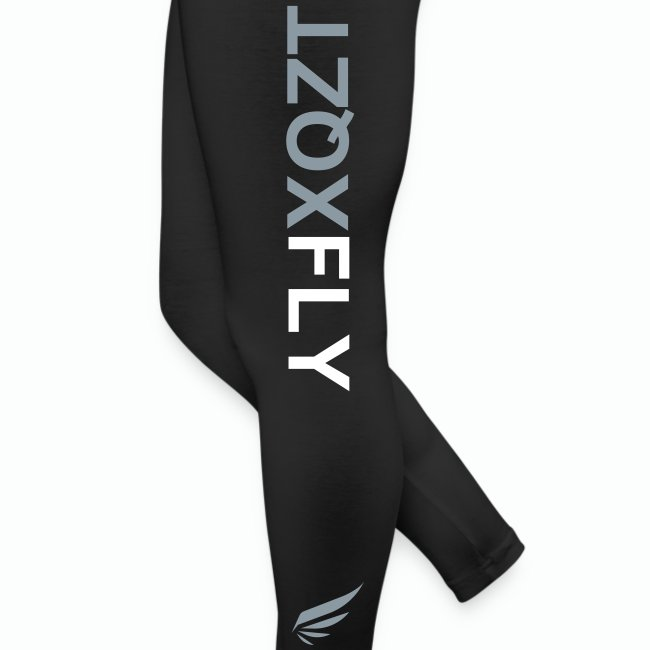 WMNS XQZT FLY Leggings (SILVER)