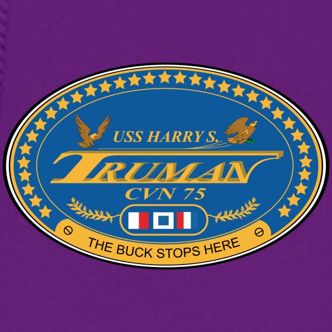 USS HARRY S TRUMAN 2018 WOMENS CRUISE HOODIE - FAMILY EDITION