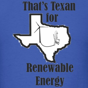 texan_wind_renewable_energy T-Shirts - Men's T-Shirt