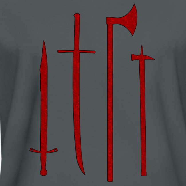 Armory (Red, Textured) - Performance Shirt