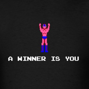 A winner is you - Star Man - Men's T-Shirt
