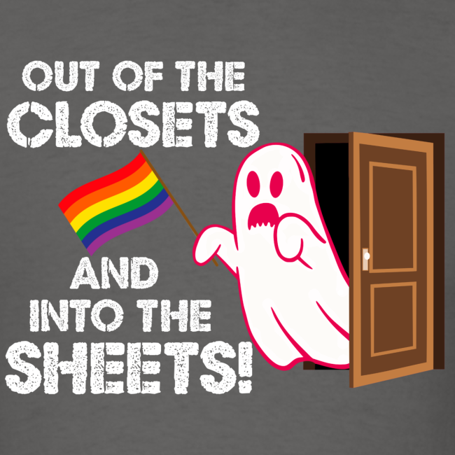Out of the Closets Ghost Shirt