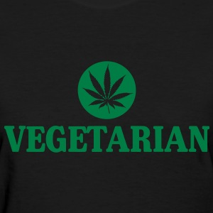 Vegetarian Pot Women's Shirt - Women's T-Shirt