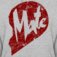 mate - couple Hoodies