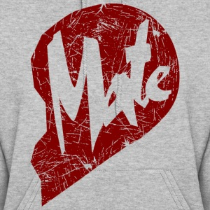 mate - couple Hoodies - Women's Hoodie