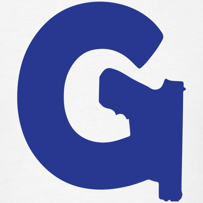 Gun Channels Logo - Blue