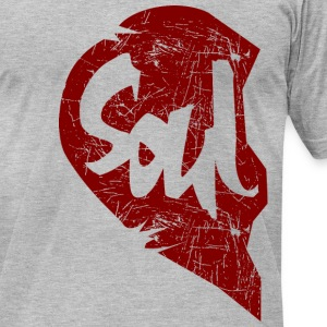 soul - couple T-Shirts - Men's T-Shirt by American Apparel