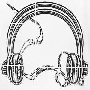 Headphones - Kids' T-Shirt