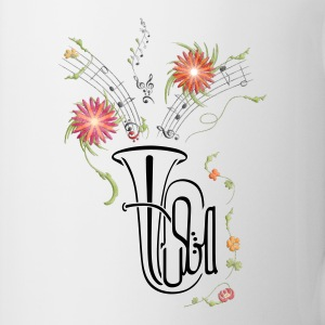Tuba Flowers - Coffee/Tea Mug