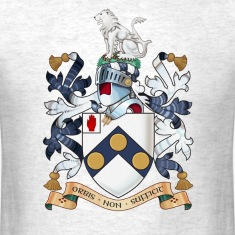 "James Bonds coat-of-arms and family motto ""The w"