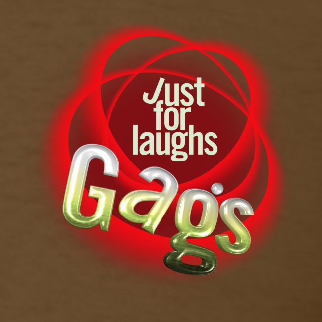 Just For Laughs Men's T Gags Crew Shirt!