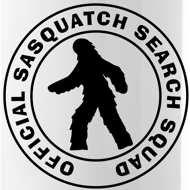 Official Sasquatch Search Squad Bigfoot Metal Sport Water Bottle