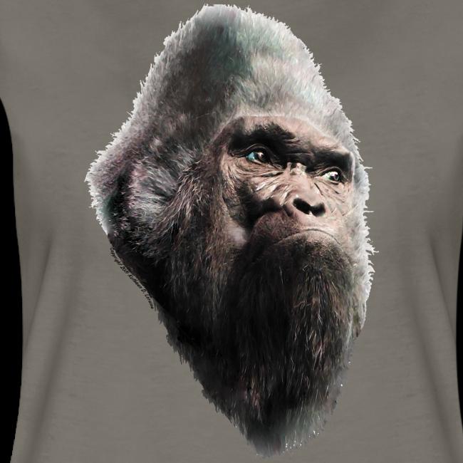 Sasquatch Bigfoot Vintage Shirt - Women's Fitted Shirt