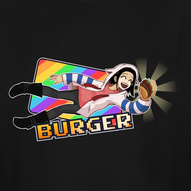 Burger Get (text) Mens' XL+