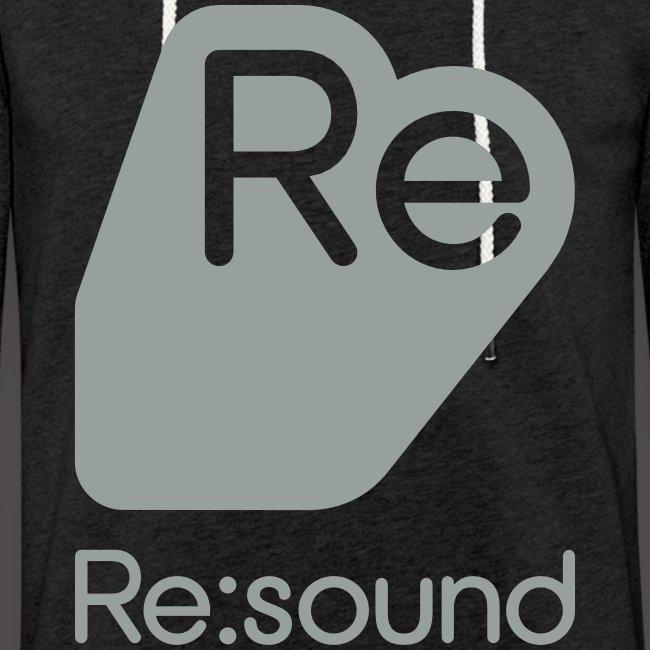 Re:Sound Music - Lightweight Hoodie - Grey Font