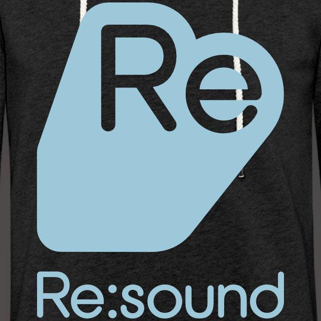 Re:Sound Music - Lightweight Hoodie - Pale Blue Font
