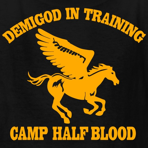 Camp Half Blood Sale Demigod In Training T Shirts Kids And Adult
