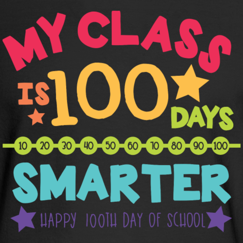 My Class is 100 Days Smarter Happy 100th Day