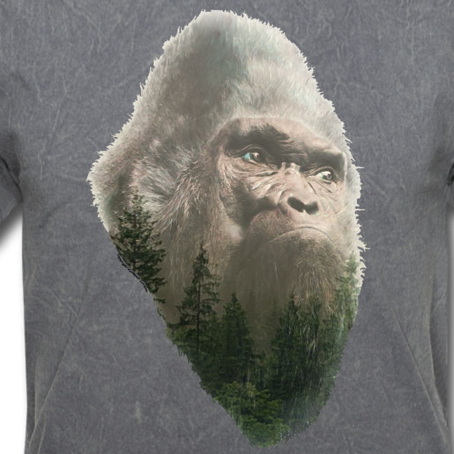 The Forest King Bigfoot or Sasquatch Shirt - Adult Standard Shirt