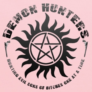 Demon Hunters Colt guns Rocker design black Sweatshirts - Kids' Hoodie