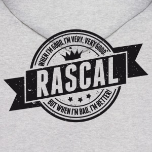 Vintage RASCAL quotes - Good and better! Hoodies - Men's Hoodie