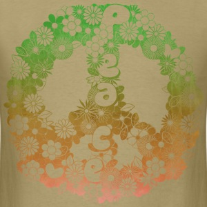 Retro peace sign Tee - Men's T-Shirt