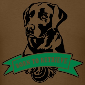 retriever_2c T-Shirts - Men's T-Shirt