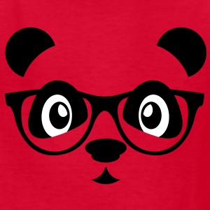 panda with glasses Kids' Shirts - Kids' T-Shirt