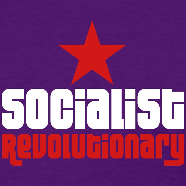 Socialist Revolutionary Tee (click for more colors)