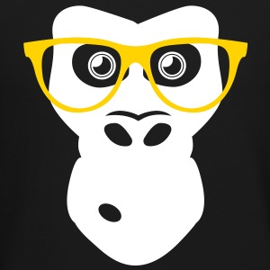 Ape with glasses Long Sleeve Shirts - Crewneck Sweatshirt