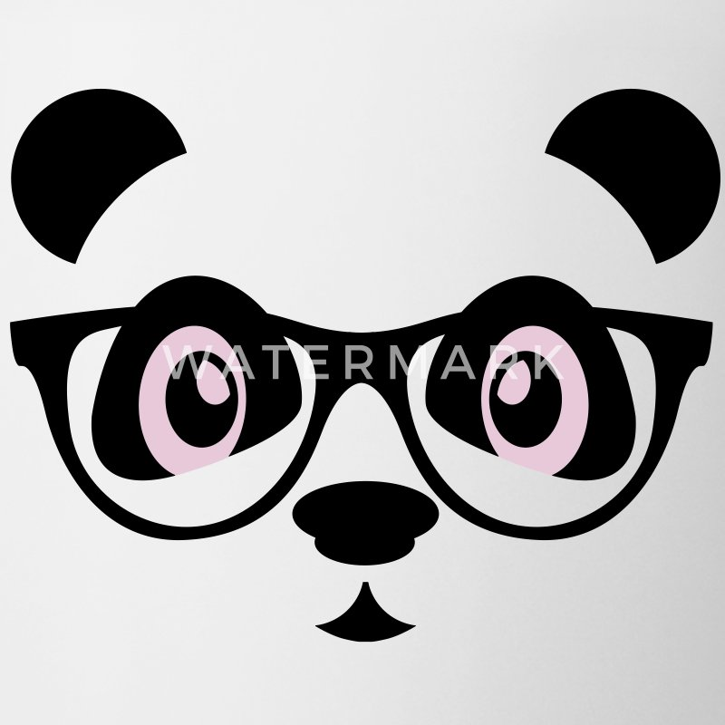 panda with glasses Accessories - Coffee/Tea Mug