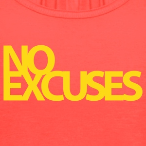No Excuses Gym Motivation Tanks - Women's Flowy Tank Top by Bella