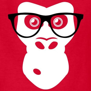 Ape with glasses Kids' Shirts - Kids' T-Shirt
