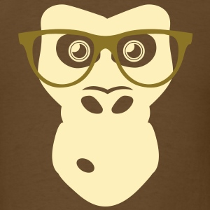 Ape with glasses T-Shirts - Men's T-Shirt