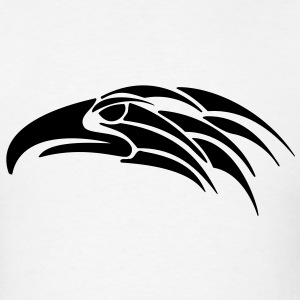 Tribal Eagle Hawk Falcon 1c - Men's T-Shirt