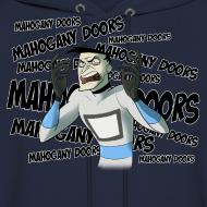 Design ~ Mahogany Doors - Men's Hoodie