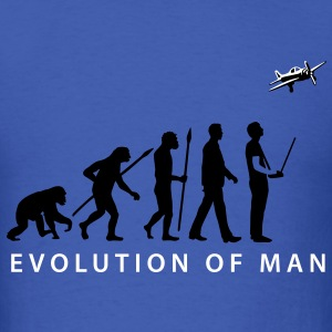 evolution_modellflieger_a_2c T-Shirts - Men's T-Shirt