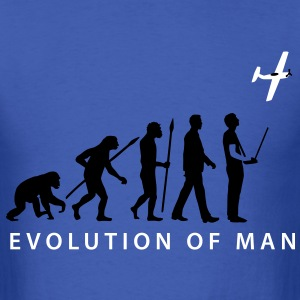 evolution_modellflieger_b_2c T-Shirts - Men's T-Shirt