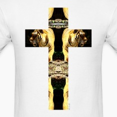 TIGER CRUCIFIX - T-Shirt