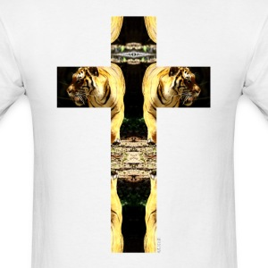 TIGER CRUCIFIX - T-Shirt - Men's T-Shirt