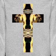 Design ~ TIGER CRUCIFIX - Crewneck