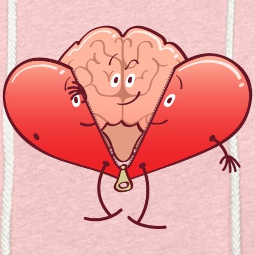 Brain getting rid of heart costume
