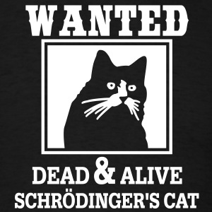 Wanted Cat T-Shirts - Men's T-Shirt